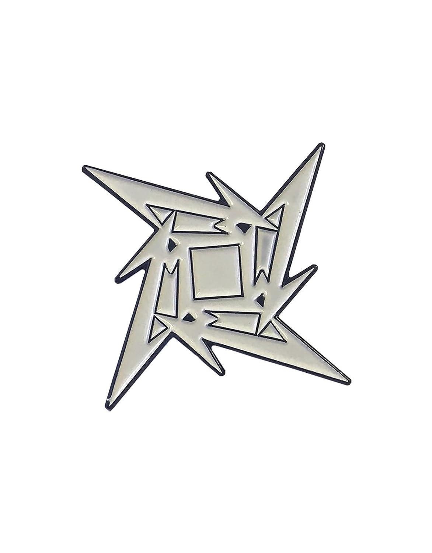 Amazon.com: Insignia de Metallica Estrella Ninja Logo de la ...