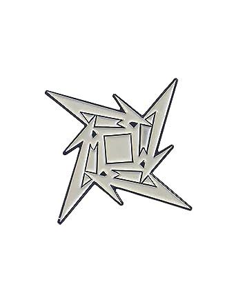Metallica Badge/pin - ninja logo