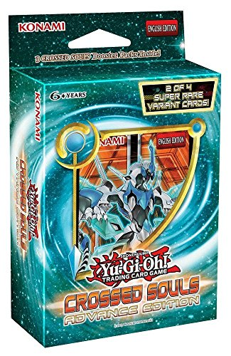 Yu-Gi-Oh! - Crossed Souls SE Advanced Edition Mini Booster Box - 3 booster packs + 2 holos!! (Yu Gi Oh Goblin King)