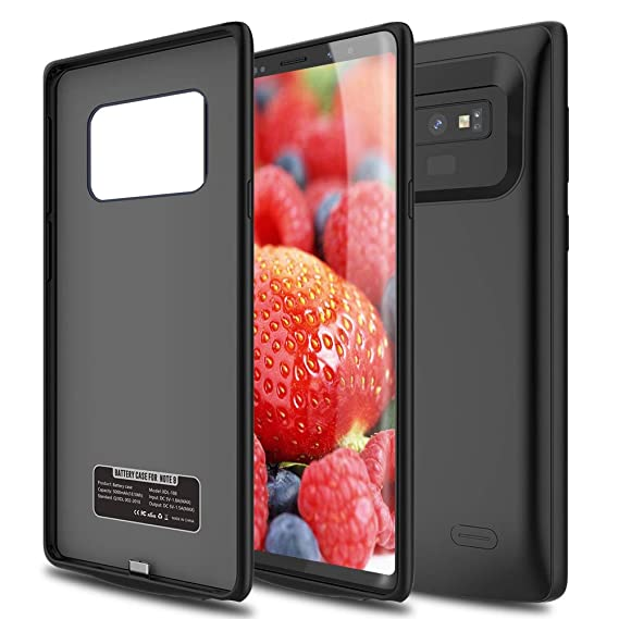 Amazon.com: Caja de batería para Note 9, ALLEASA 5200 mAh ...