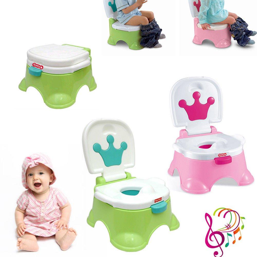 oukaning 3/in1/Toilette Trainer Enfant Pot b/éb/é toilette Si/ège WC Pot de