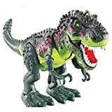 Dinosaur,Stoga Walking Electronic Dinosaur Toys with Flashing And Sounds For Kids