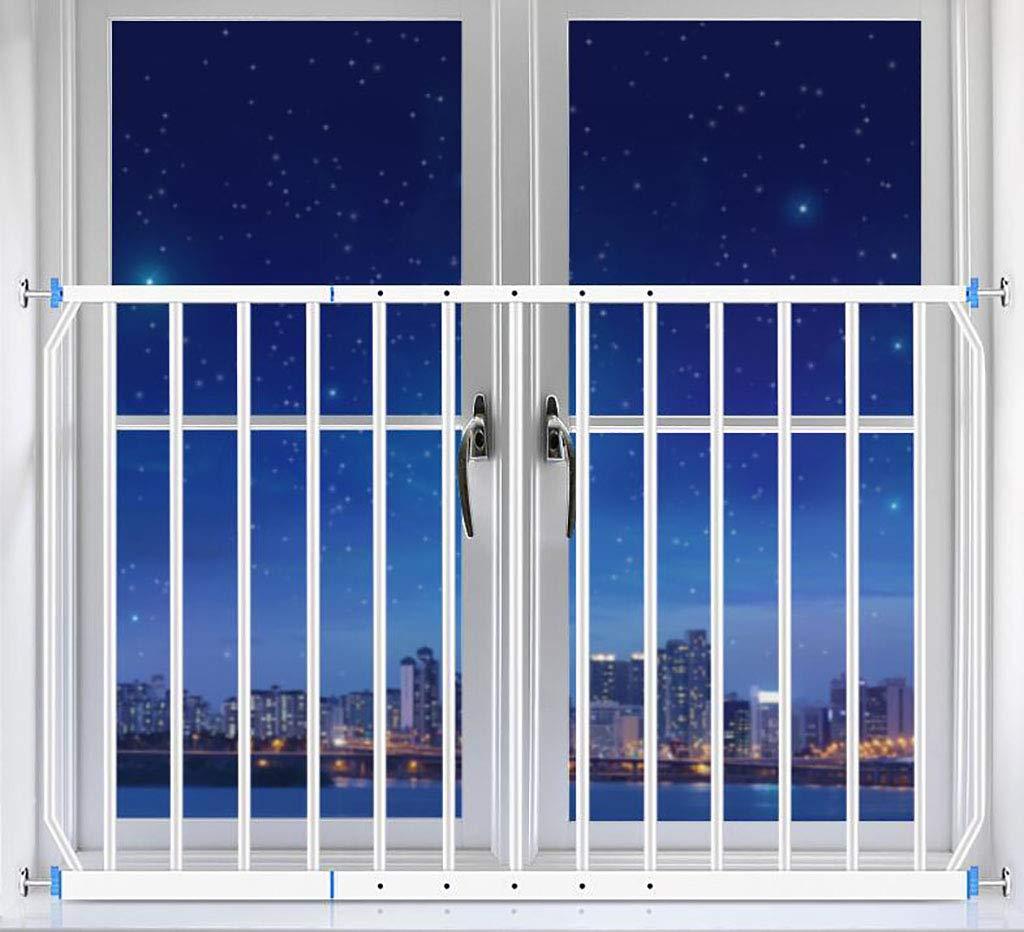 赤ちゃん ゲート バルコニー窓ガードレール、窓枠、子供用転倒防止窓枠、高さ77cm、耐衝撃性50kg、耐荷重150kg (サイズ さいず : 230-290cm) 230-290cm  B07MCM5K99