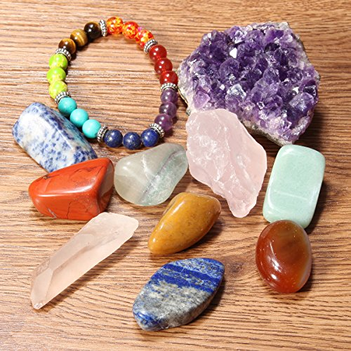 Quartz Crystal Stone Set - 3