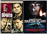 The Departed & Shutter Island DVD 2 Pack Leonardo DiCaprio Double Feature Movie Set
