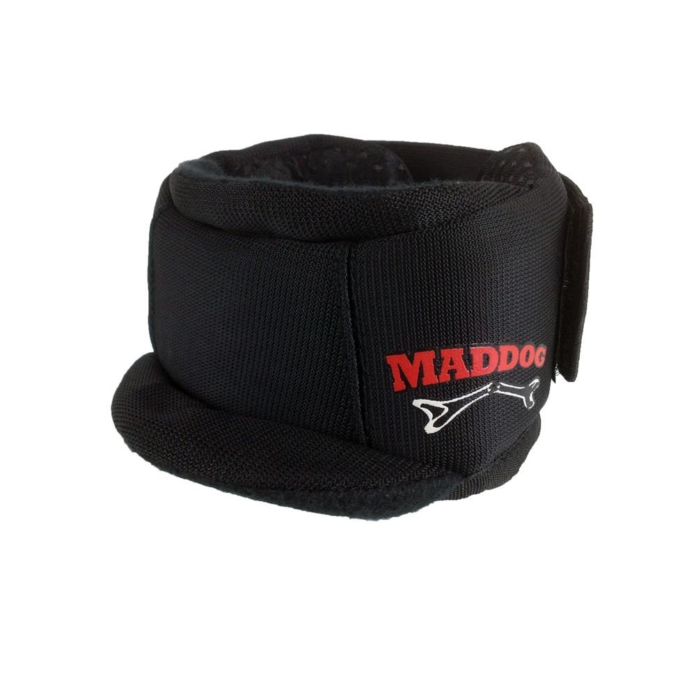 Maddog Sports Pro Padded Paintball and Airsoft Neck Protector - Black by Maddog Sports