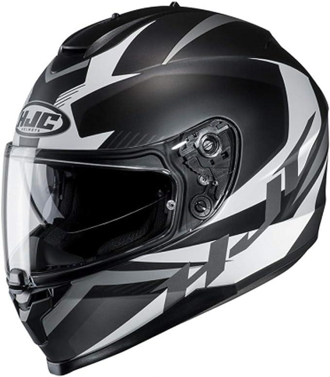 Hjc Helmets Unisex Erwachsene Nc Motorrad Helm Schwarz Weiss Xl Auto