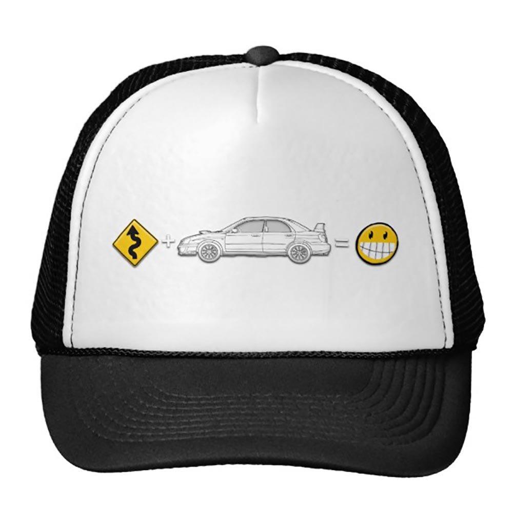 Equals Fun Hat Black Curves Subaru