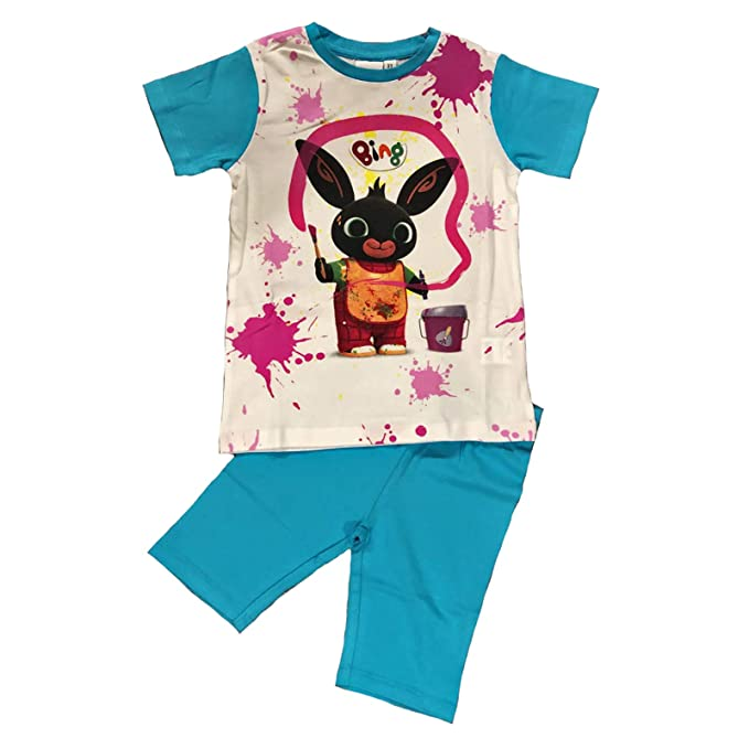Bambina: Abbigliamento Tuta Bing 3 4 5 6 7 Anni Bambino Bambina Primavera Estate 2019
