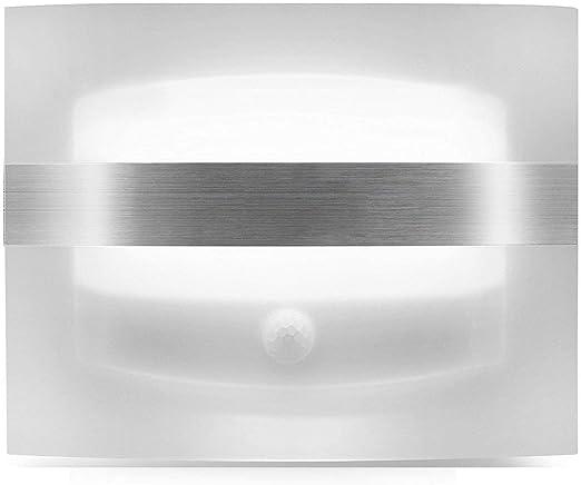 mecare Luz nocturna LED Detector de movimiento LED Aplique Blanco interior inalámbrico Luz funciona con pilas luz inalámbrico auto 3 modos Wall lámpara con interruptor para escaleras, Jardín, Piso, Patio, armario, Garage: