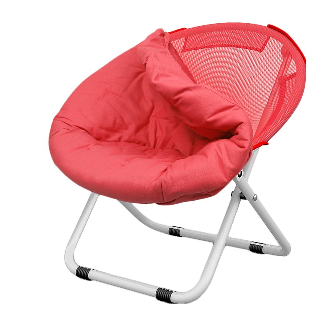 Sdraio Poltrone reclinabili Sedia Pieghevole Sedia Tonda Sedia Divano per Adulti Home (Colore : Green) ZL-Sedie a sdraio