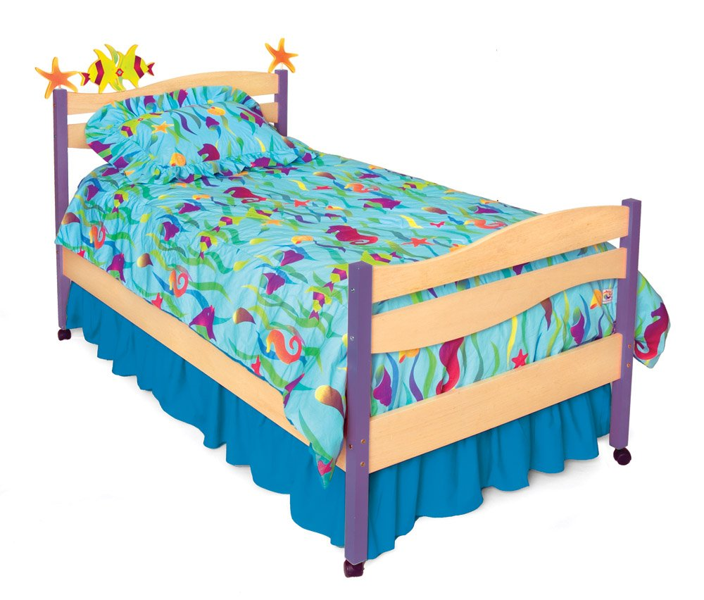 Room Magic Twin Bed Tropical Seas