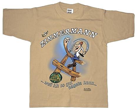 T Shirt Unisex Mit Print Zimmermann 09963 Beige Gr S Xxl