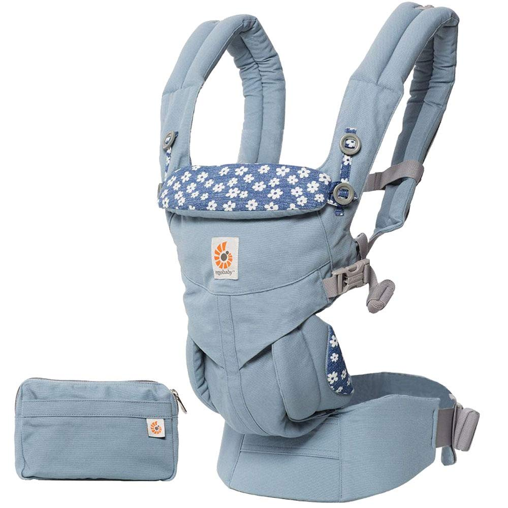 ErgoBaby Omni 360 Baby Carrier Blue Daisy