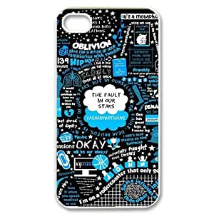C-EUR Customized Print Okay Okay Pattern Back Case for iPhone 4/4S
