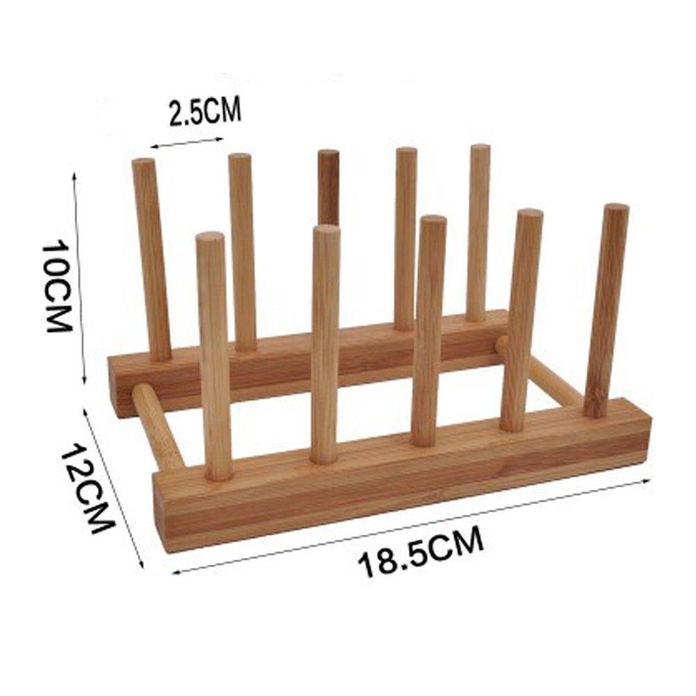 AJZGF Padded Dishwasher Kitchen Rack Shelf Shelf Flatbed Control Water Dish Rack Single Drain Bowl Shelf (Size : L)