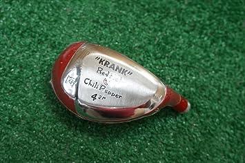 Krank Golf red hot chili pepper para diestros 21 ° de cabeza ...