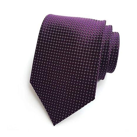 XJIUER corbata 8cm Traje de Boda para Hombre Ocasión de Negocios ...