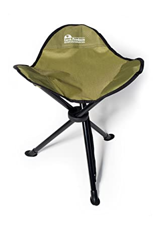 Elegant EARTH U201cEASY SEATu201d CAMP STOOL W/ STEEL LEGS, COMFORTABLE NYLON FABRIC