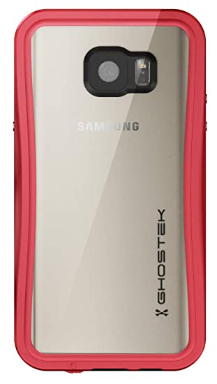 buy online df414 63a95 Ghostek Atomic Tough Rugged Waterproof Case Designed for Samsung Galaxy  Note 5 - Red