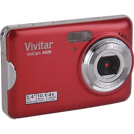 amazon com vivitar vivicam x029 10 1 megapixel digital camera with rh amazon com