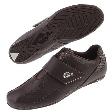 buy online 8ff75 8eb5c Lacoste Protect Evo TL SPM Leder Sneaker Klett braun ...