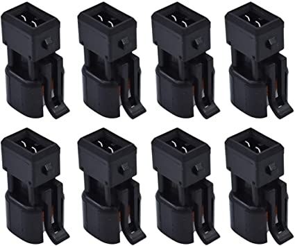 labwork 8PCS Fuel Injector Connector Adapter fit for LS1 EV1 to EV6 EV14 LS2 LS3 LSX LT1