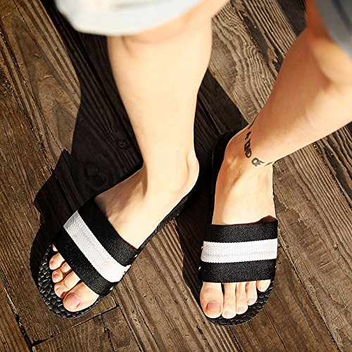 estate Nuovo prodotto Uomini sandali selvaggio Tempo libero Roma tendenza Coppia sandali Spiaggia sandali ,bianca,US=6.5,UK=6,EU=39 1/3,CN=39