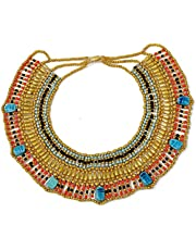 Cleopatra Egyptian Collar Necklace Design Costume Accessories Halloween