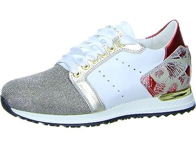 8d0b39bd18612f No Claim Damen Sneaker Lucy 11 Lucy 11 weiß 433550  Amazon.de  Schuhe    Handtaschen
