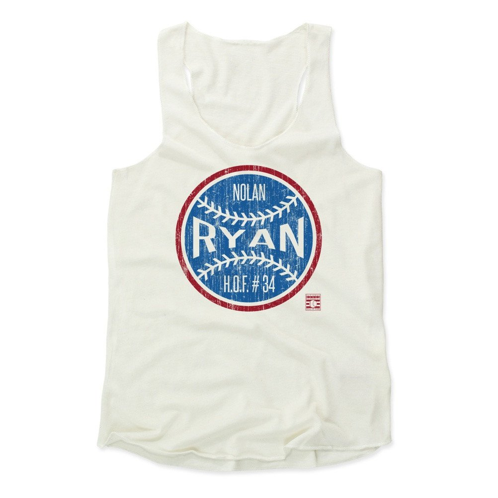 Nolan Ryan Ball B Baseball Hall of Fame Women's Tank Top