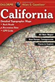 California Atlas and Gazetteer, DeLorme, 0899333834