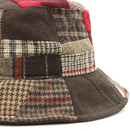 Hawkins patchwork TWEED CAPPELLO DA PESCATORE  Amazon.it  Abbigliamento e801ffc8dc85