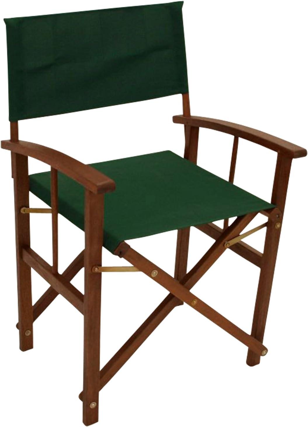 Holz extra stabil Regiesessel XL Regiestuhl Klappstuhl Gartenstuhl CALIFORNIA