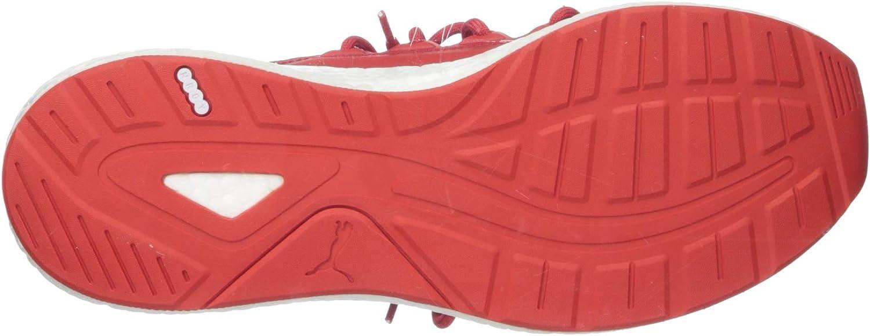 PUMA Men's Nrgy Neko Sneaker High Risk Red White