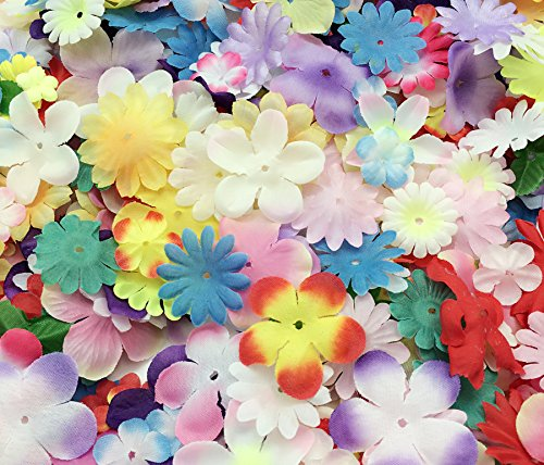 Scrapbooking Petals - PEPPERLONELY Brand Silk Flower Petals 10 Gram, 110PC + Flower Petals, 15~50mm (9/16~2 Inch)