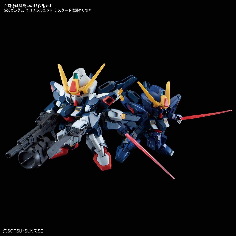 Bandai Model Kit Mobile Suit Gundam SD Cross Silhouette Sisquiede Titans Color