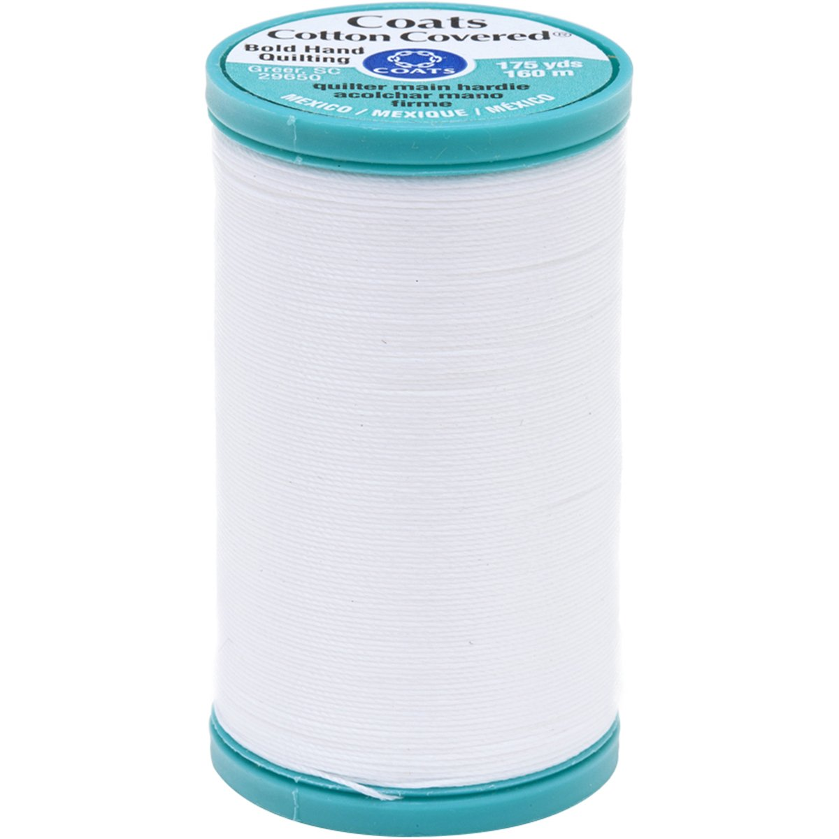 Coats Bold Hand Quilting Thread White 175-Yard