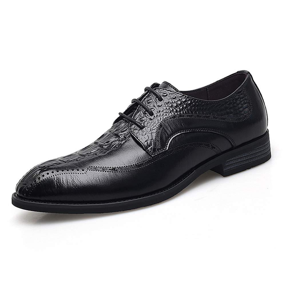 HGDR Mens Formal Schuhe Aus Echtem Echtem Echtem Leder Schnürschuh Derby Schuhe Kleid Hochzeit Schwarz Tan Büro Business Casual Schuhe  898c91