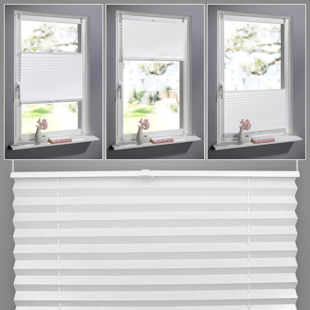 Klemmfix Easy Fix Jalousie Plissee Faltstore ohne Bohren Fensterrollo Klemmen