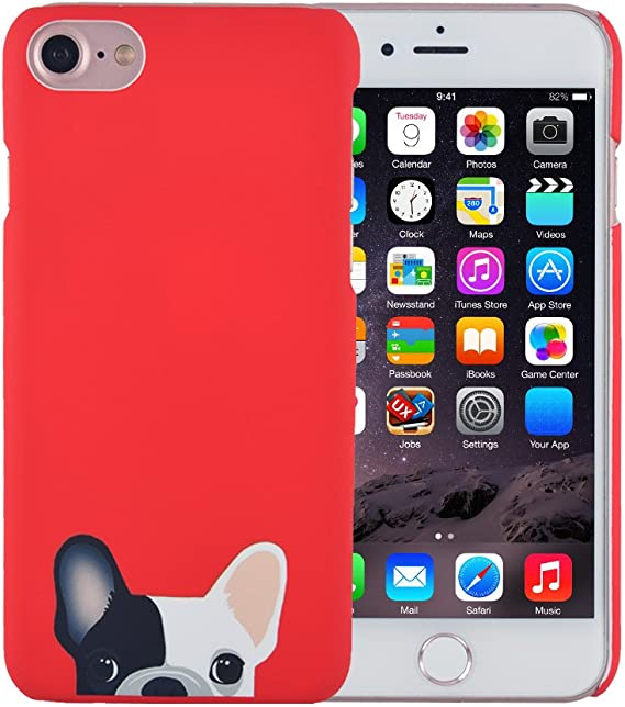 Dog Badges Silicone TPU Covers iPhone 7