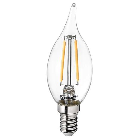 IKEA LUNNOM E14 - Bombilla LED de filamento (200 lúmenes)