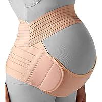 EZONEDEAL Maternity Belt, Pregnancy Support - Waist/Back / Abdomen Band, Belly Brace - Adjustable Breathable Lower Back…