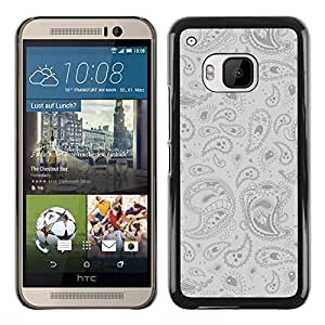 Shell-Star Arte & diseño plástico duro Fundas Cover Cubre Hard Case Cover para HTC One M9 ( Cool Psychedelic Pattern )