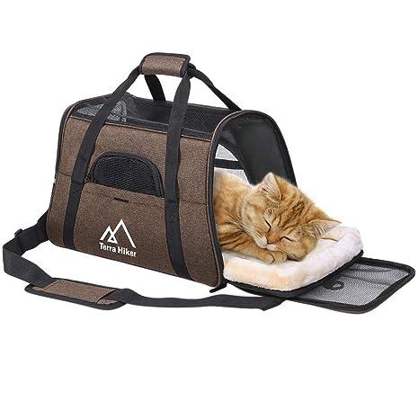 Terra Hiker Bolsa de Transporte para Perros/Gatos, Dimensiones de ...
