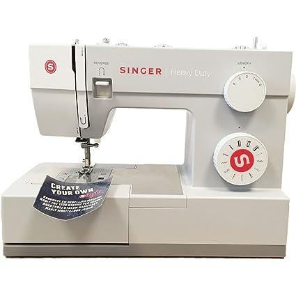 Singer HD 4411 - Máquina de coser mecánica, 11 puntadas, 1100 ppm, color