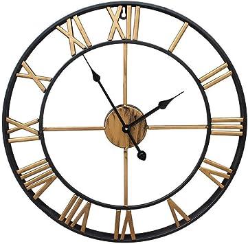 Black Iron by Kitchen Clocks and Wall Clocks Stunning Metal Roman Numeral Clock