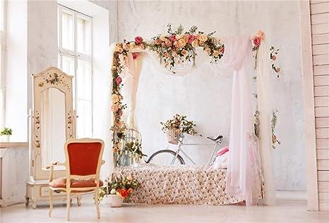 Amazoncom Laeacco Studio Wedding Photo Booth Backdrop