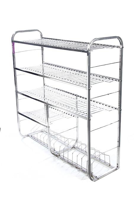 Alpha Stainless Steel Kitchen Rack (30X36)