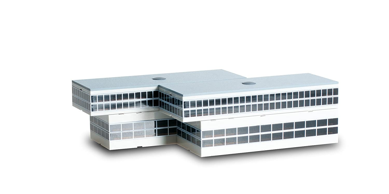 Herpa Wings Scenix - Edificio de Aeropuerto con sala de descanso para salidas, Escala 1/500 (HE519649)